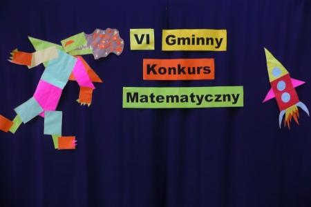 VI Gminny Konkurs Matematyczny