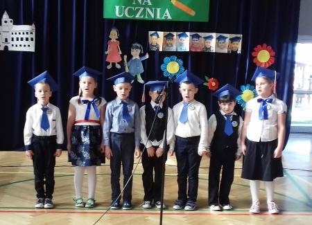 Pasowanie na ucznia - Dzień Komisji Edukacji Narodowej w naszej szkole.