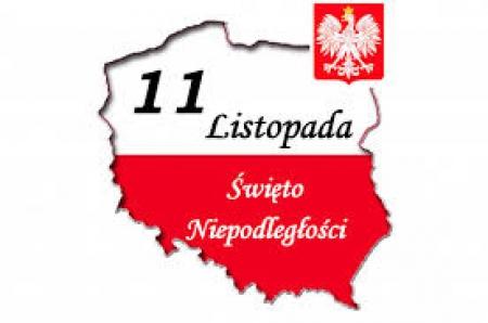 Obchody Święta Niepodległości w szkole w Zielenicach.