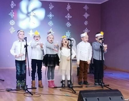 Przegląd Kolęd i Pastorałek w Borku Strzelińskim.