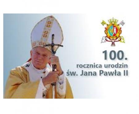 100-lecie urodzin Jana Pawła II.