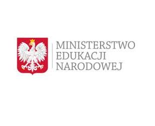 Komunikat  Ministra Edukacji i Nauki.