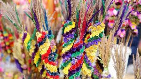 Konkurs Wielkanocny na najładniejszą palmę.